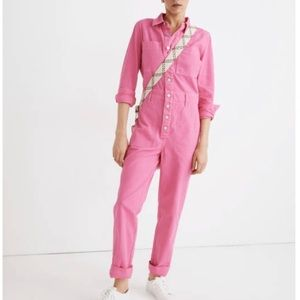 Madewell Garment Dyed Coverall Jumpsuit